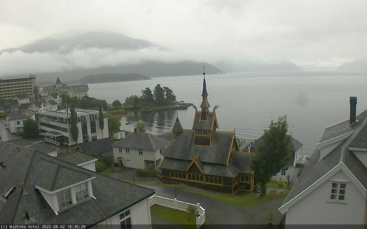 Webcam For The Port Of Balestrand